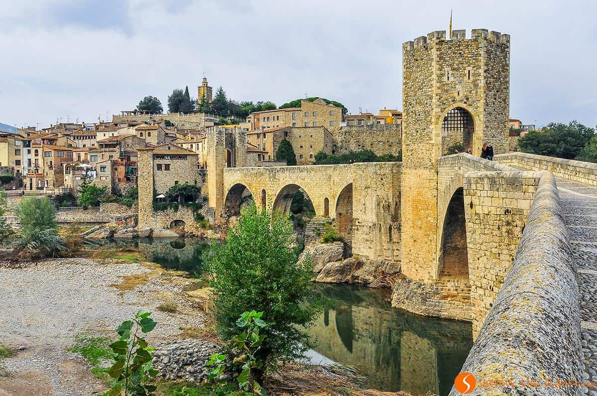 Medieval bridge Besalú