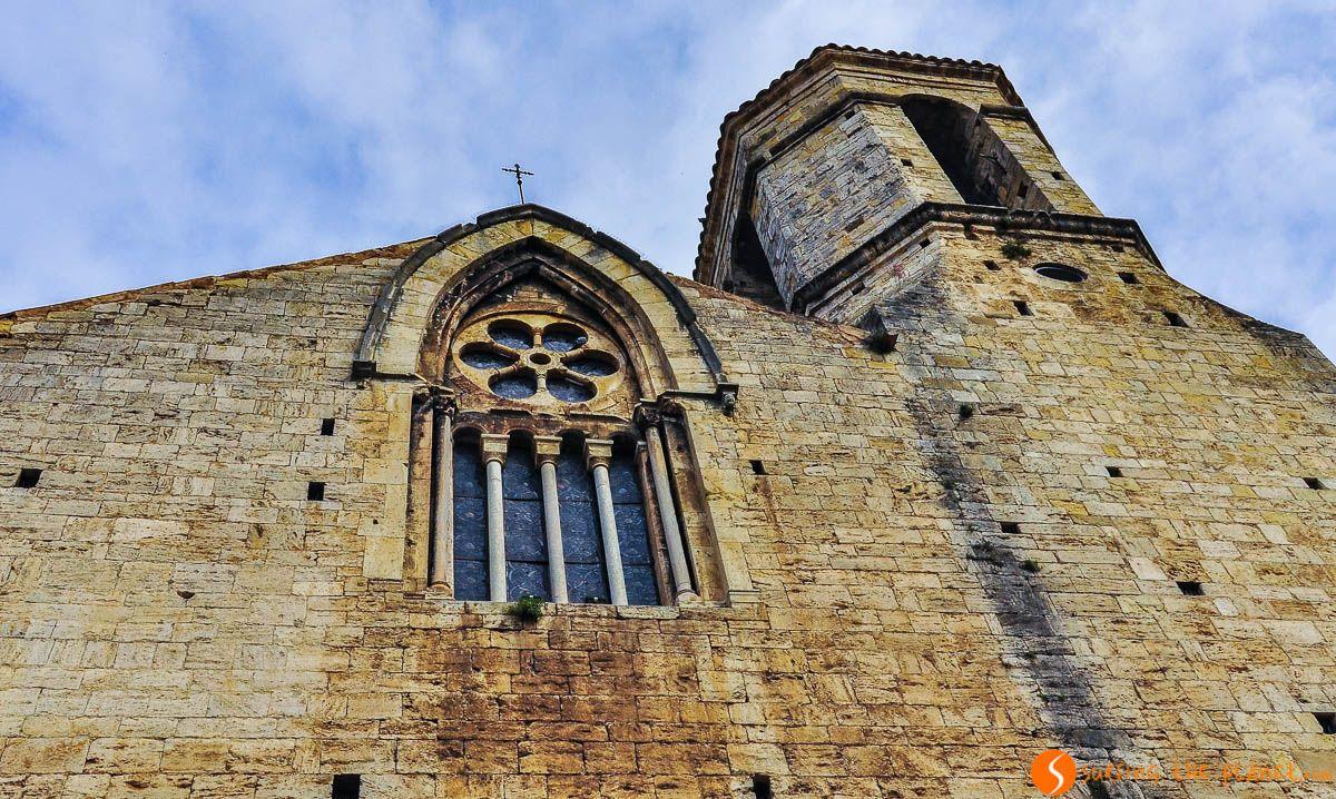 Iglesia de Sant Vicenç, Besalú, Cataluña, España | Qué visitar en Besalú