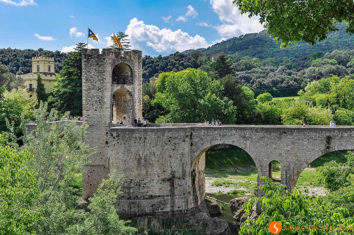 Mirador del Puente Viejo, Besalú, Cataluña, España | Qué visitar en Besalú