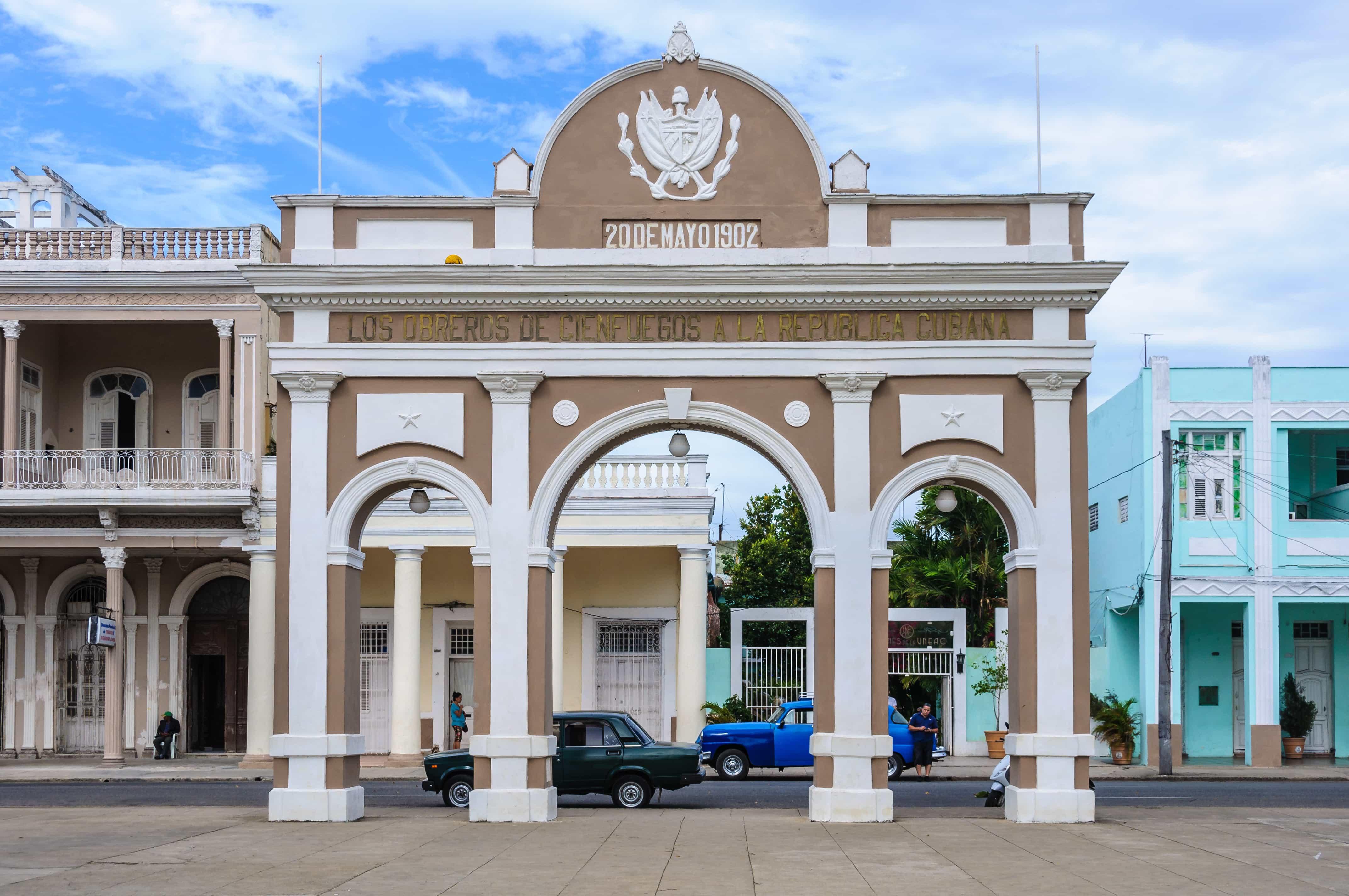 Arco del Triunfo, Cienfuegos, Cuba