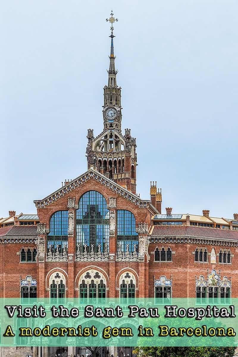 Visit Barcelona | Hospital de Sant Pau