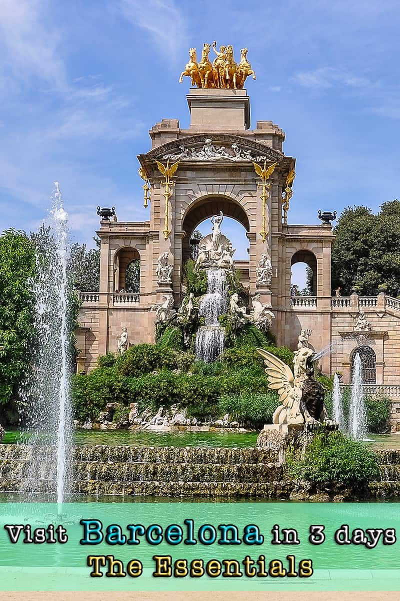 Visit Barcelona in 3 days - The essentials