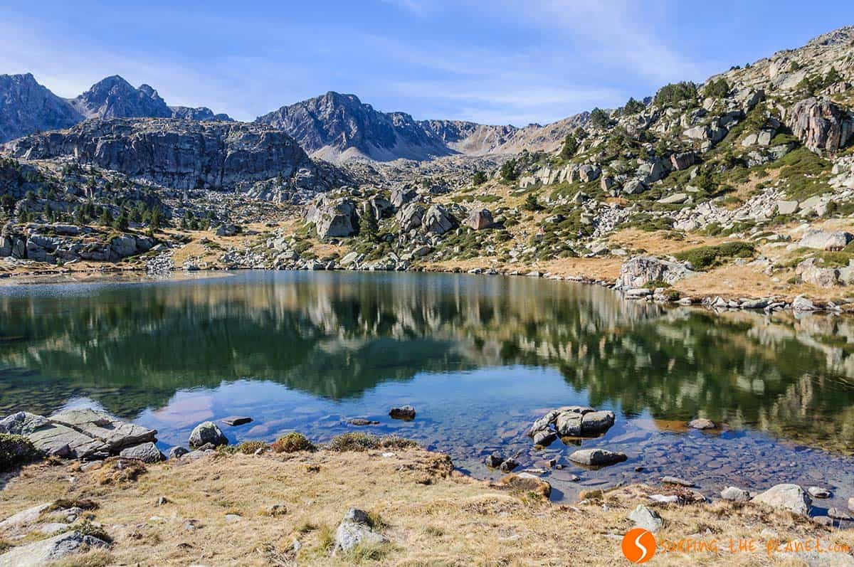 Estany Forcat, Route of Pessons | What to see in Andorra