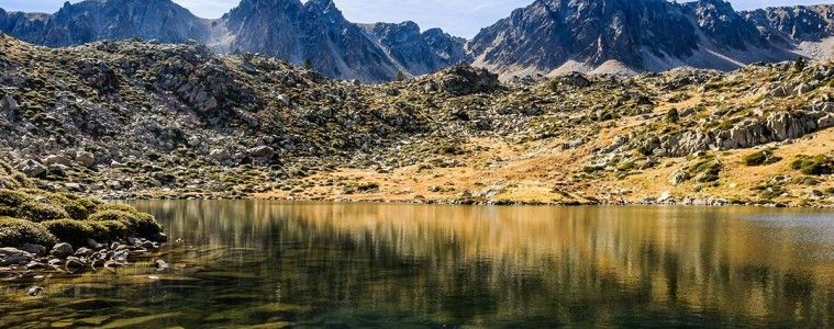 Reflection in the Lake Pessons, Andorra