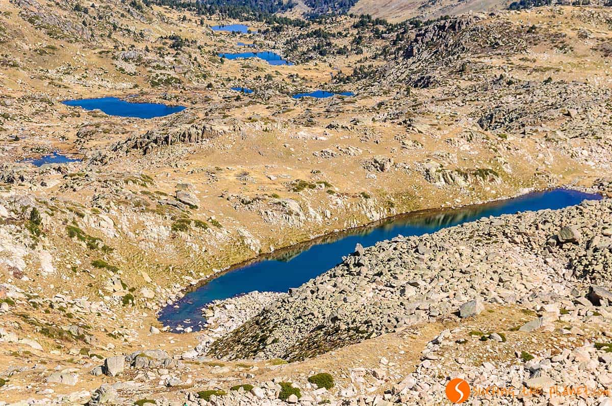 View of the lakes, Route of Pessons | Andorra what to do