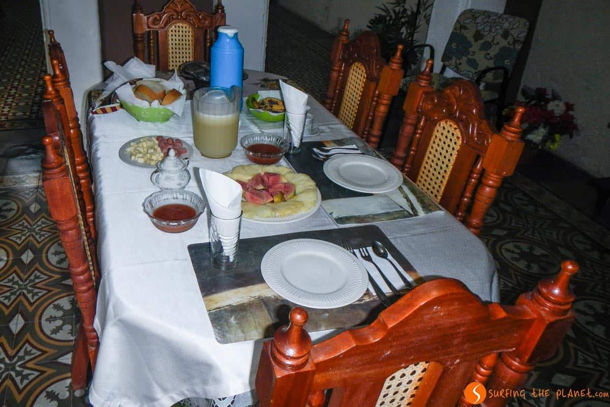 Maravillosos desayunos de Martha en Cienfuegos