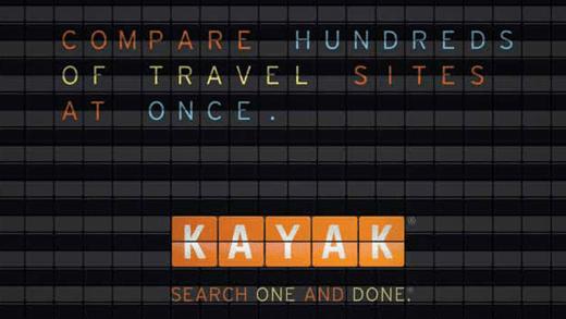Logo KAYAK viajes