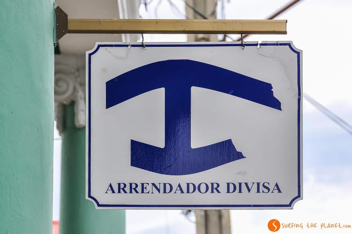 Cártel arrendador divisa | donde dormir en Cuba