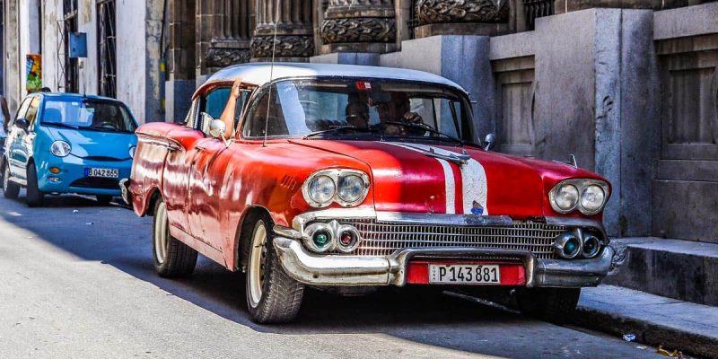 Coche época La Habana | Como moverse en la Habana