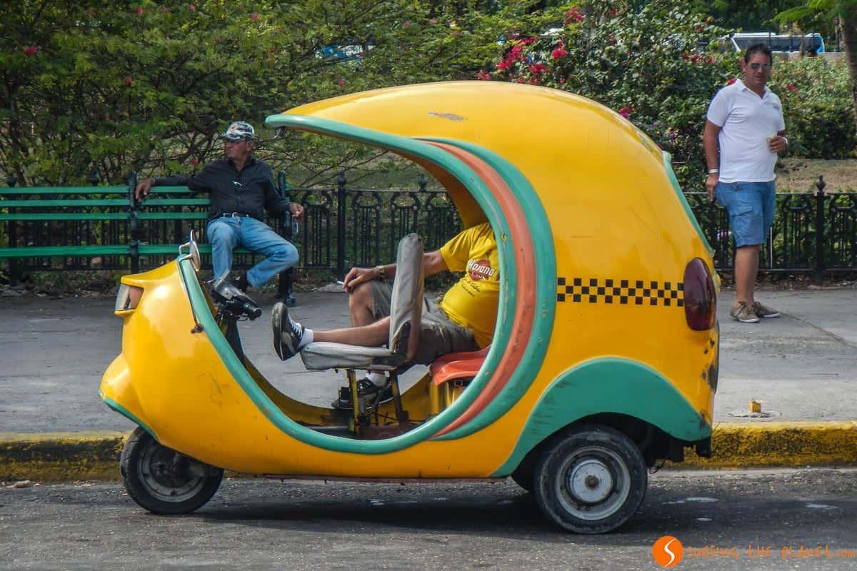 Cocotaxi | Como moverse en La Habana