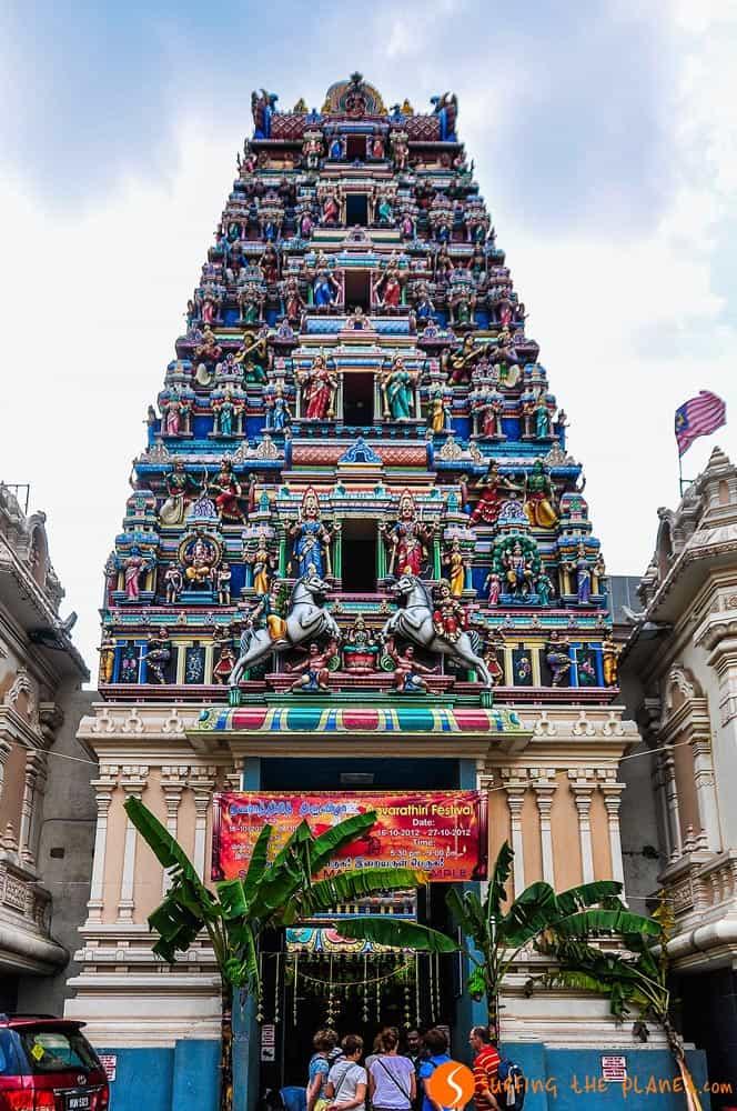 Templo de Sri Mahamariamman, Kuala Lumpur, Malasia
