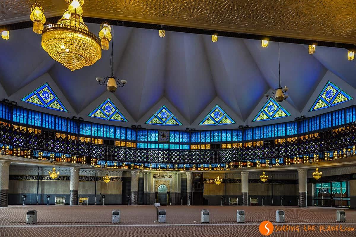 Mezquita Nacional, Kuala Lumpur, Malasia
