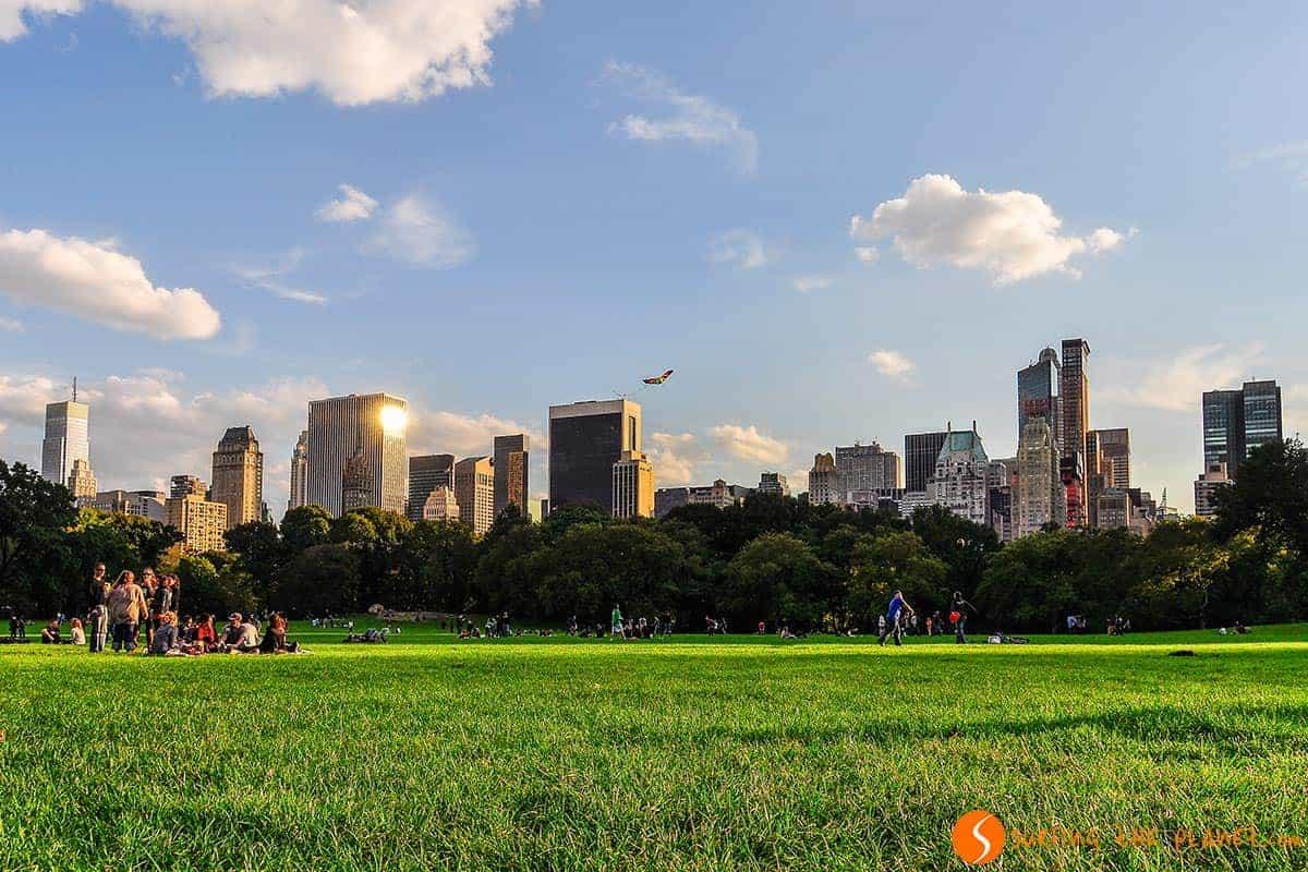 Qué hacer en Nueva York | El atardecer en Central Park