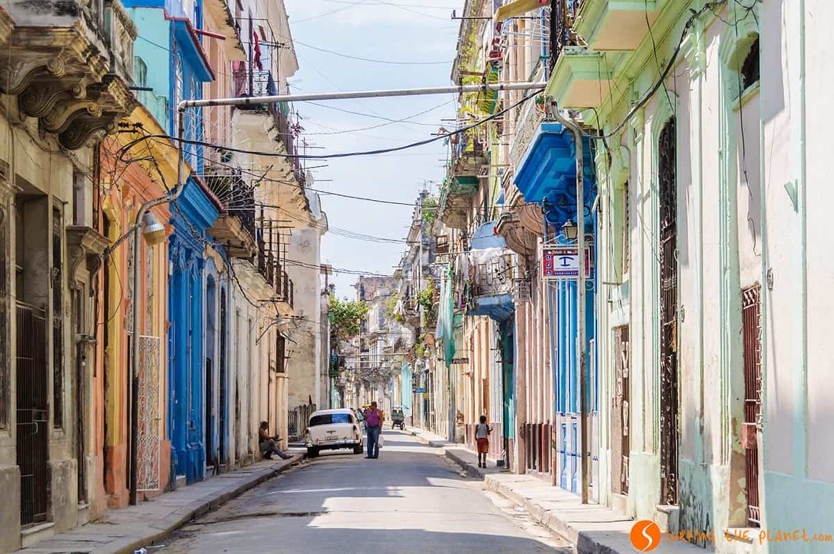 Calle de La Habana Vieja en Cuba | Que ver en la Habana en tres días