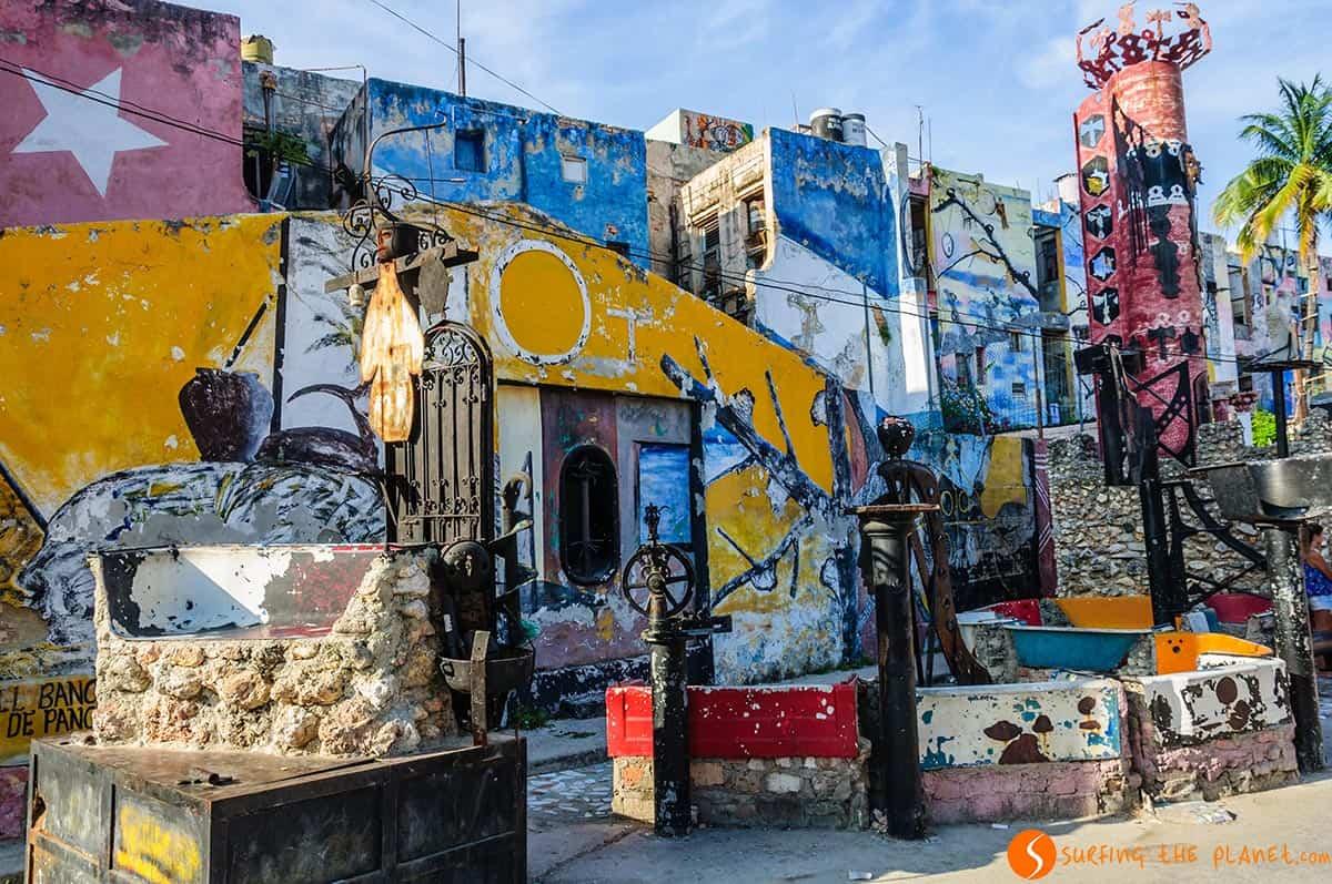 Callejon Hammel en La Habana | Viajar a Cuba