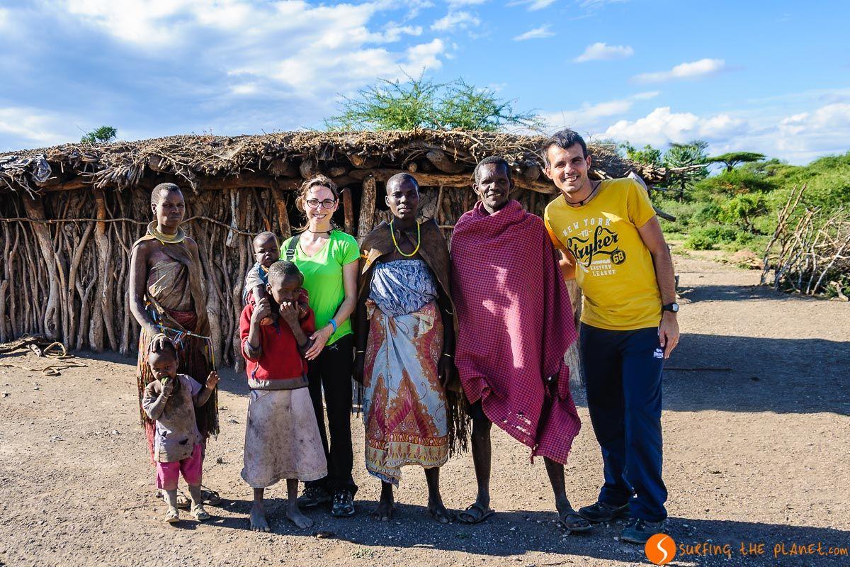 La tribu datoga en Lago Eyasi, Tanzania | Safari en el Lago Eyasi