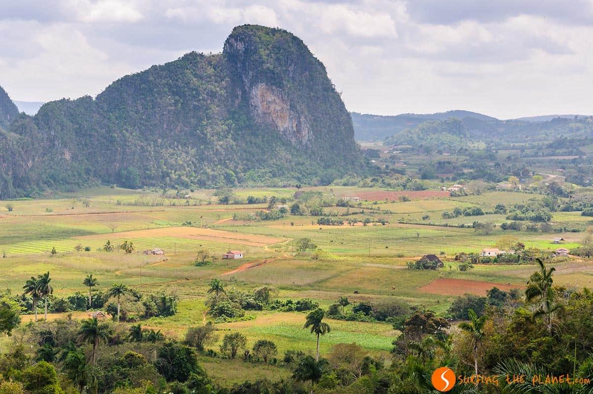 Paisaje Valle de Viñales, Cuba | que ver en Viñales