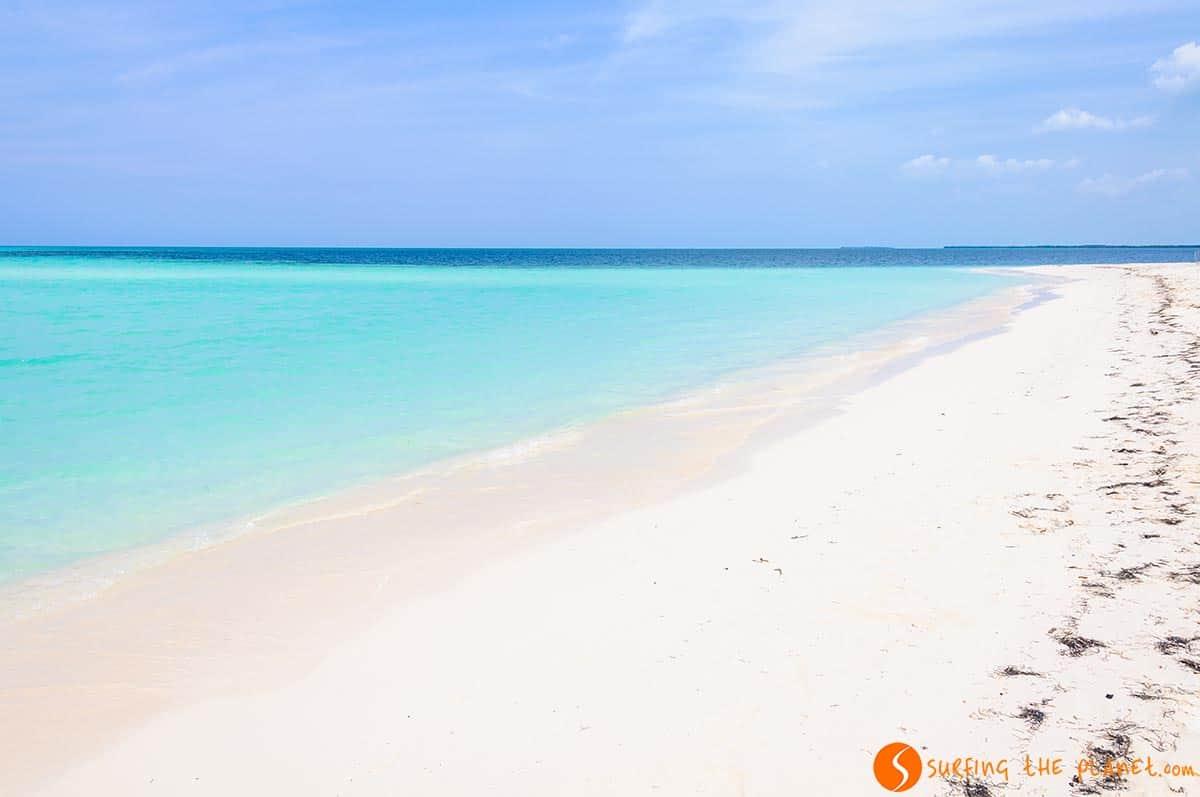 Playa Punta Arena, Cayo Levisa, Cuba