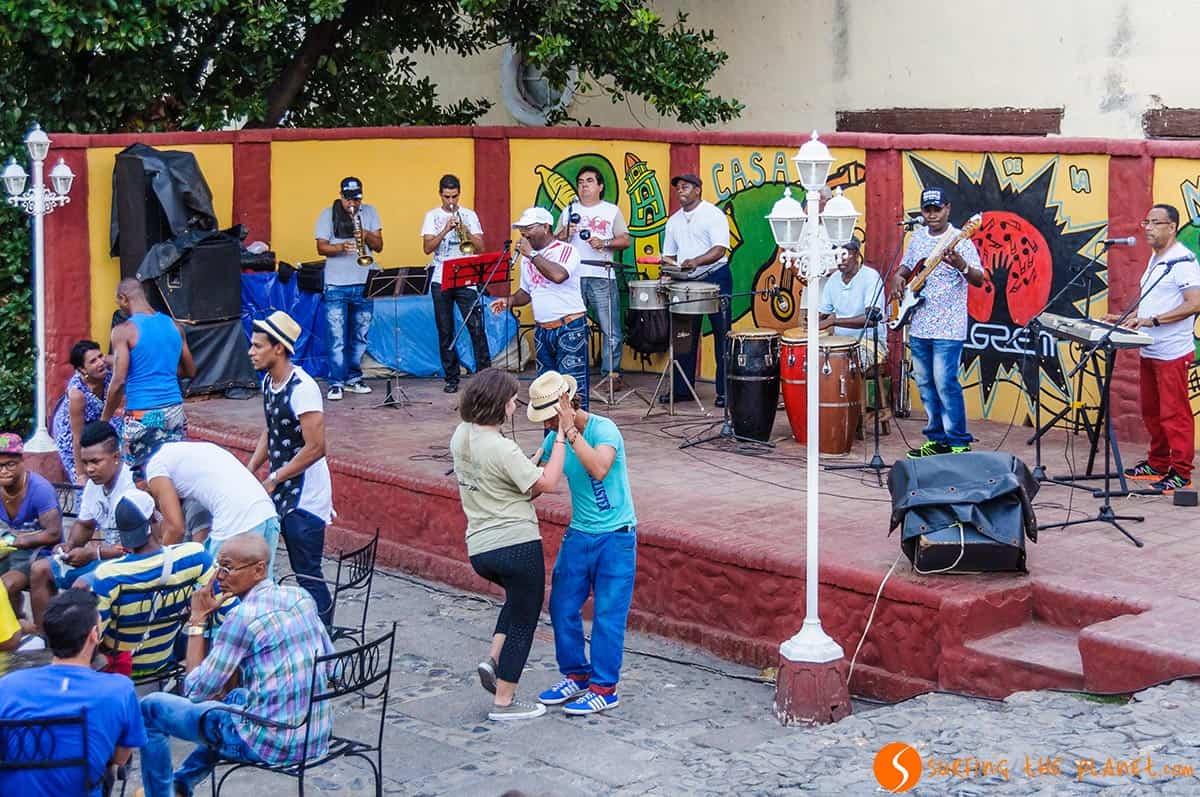 Casa de la Musica, Trinidad, Cuba