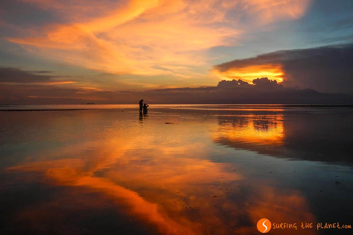 Sunset in Siquijor Island, The Philippines