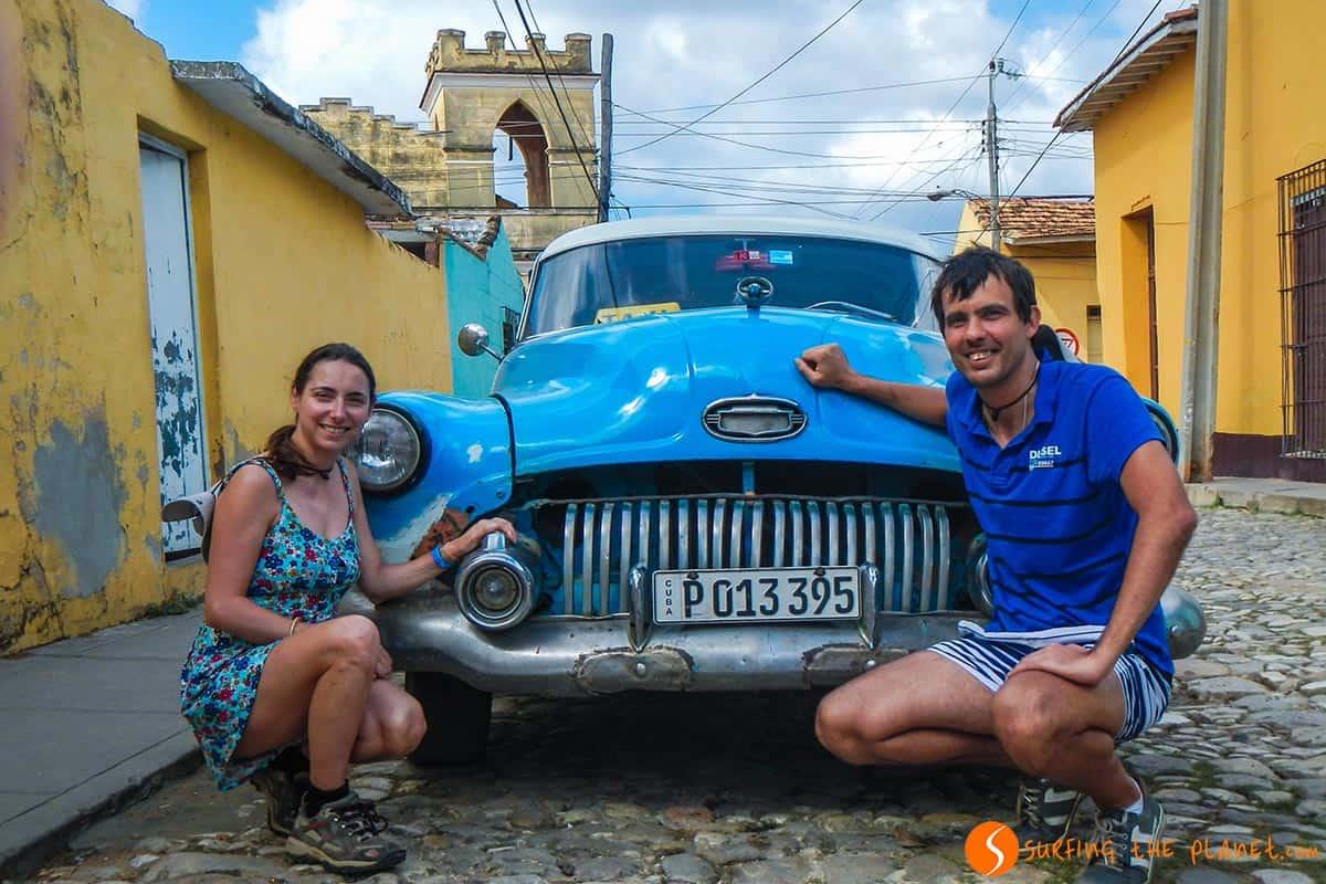 Coche de época, Trinidad, Cuba | Qué ver y hacer en Trinidad