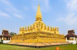 Monumento Nacional, Vientiane, Laos