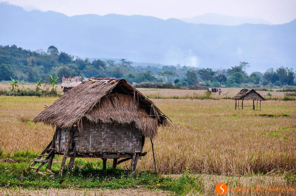 Paisaje Rural, Luang Nam Tha, Laos