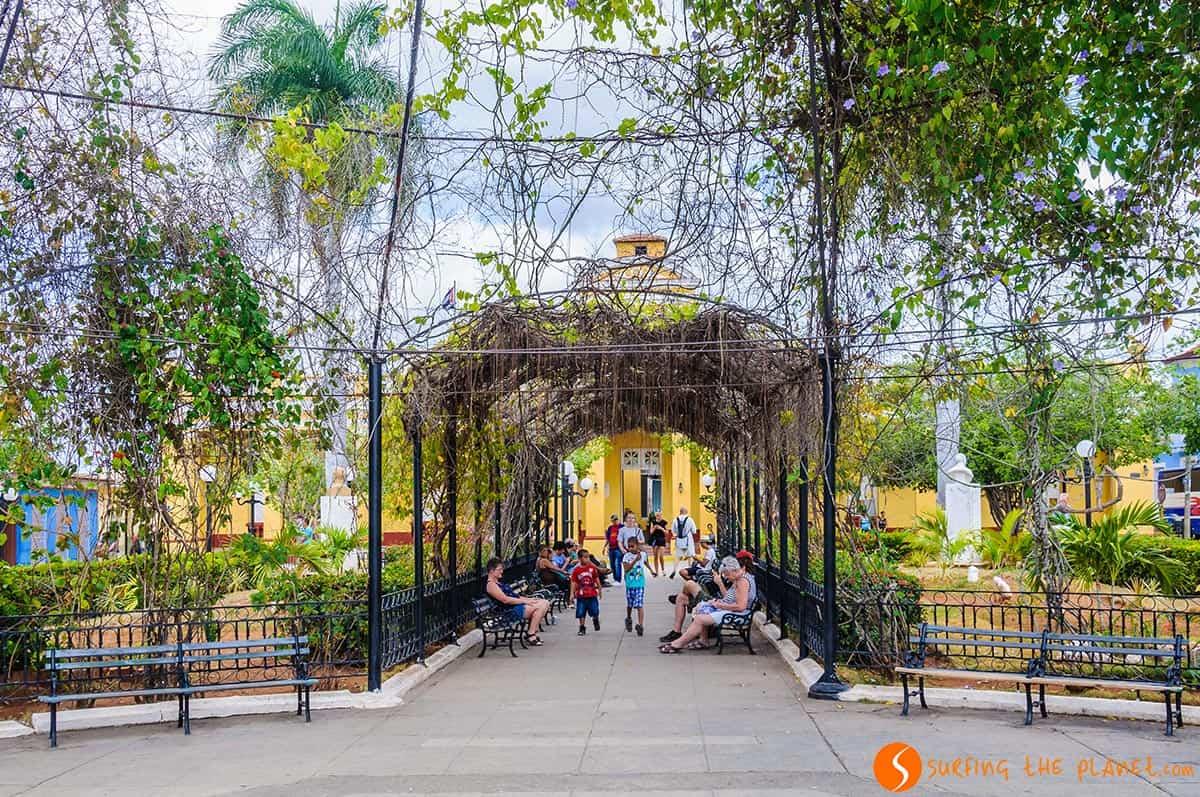 Plaza Carillo, Trinidad, Cuba