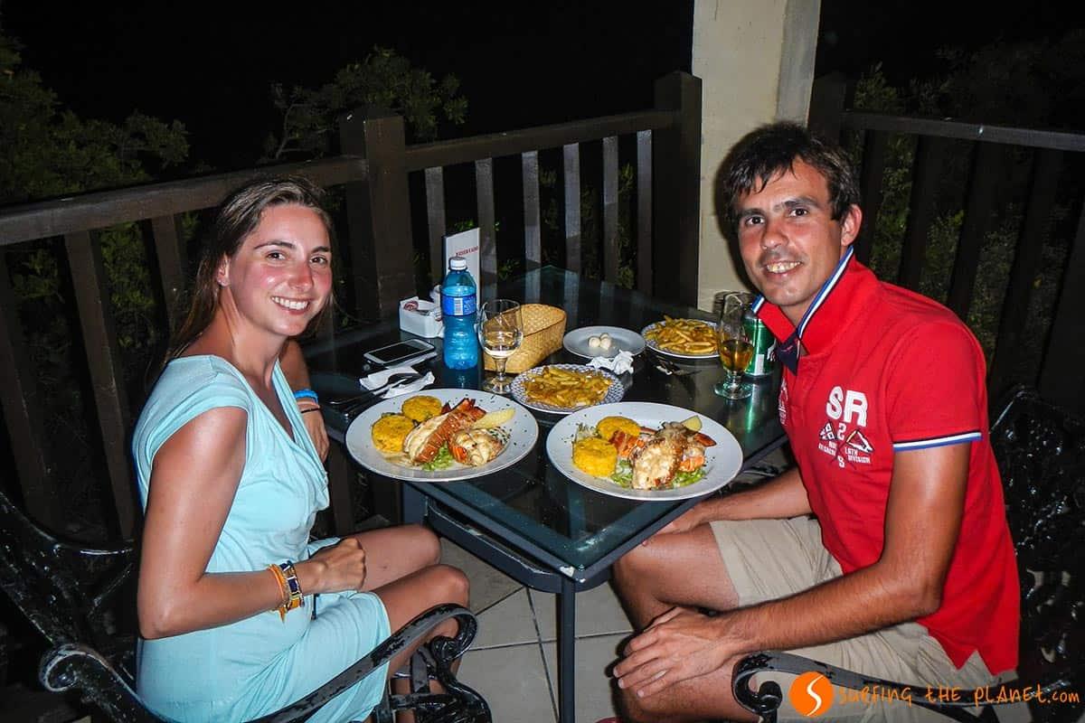 Restaurante, Cayo Las Brujas, Cuba