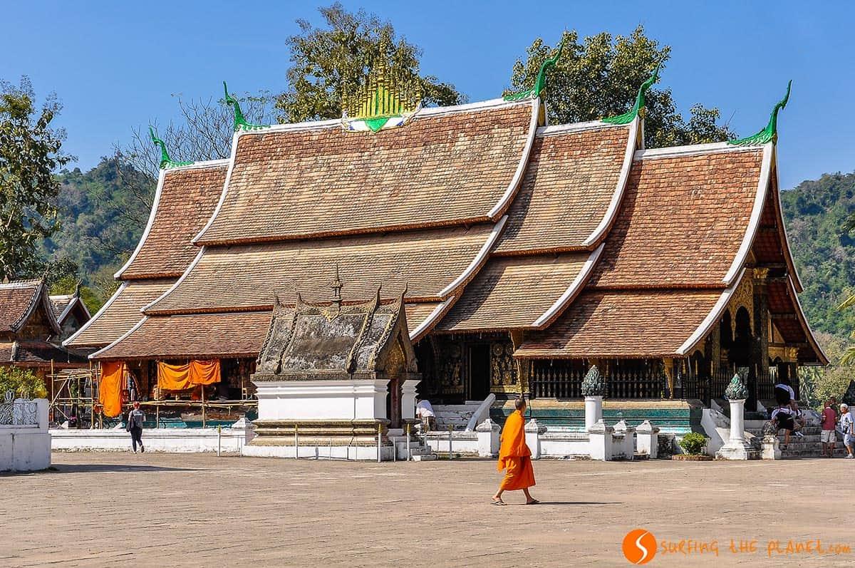 Buddhist temple, Luang Prabang, Laos