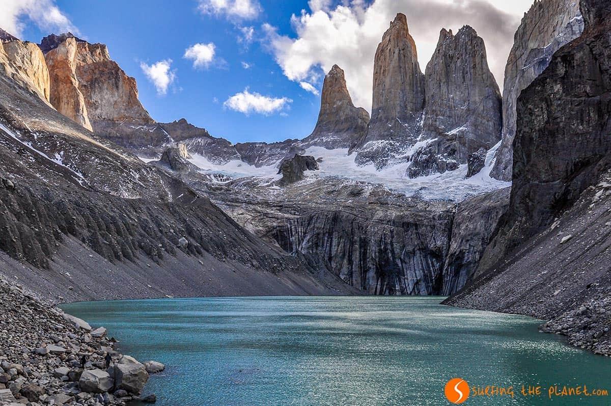 Los picos, Torres del Paine, Chile | Qué visitar en Chile en 15 días