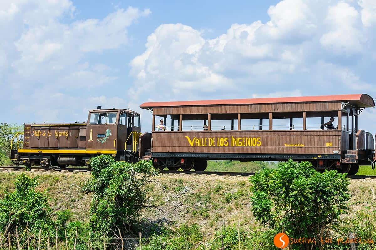 Tren historico, Valle de los Ingenios, Cuba | Qué visitar en Trinidad