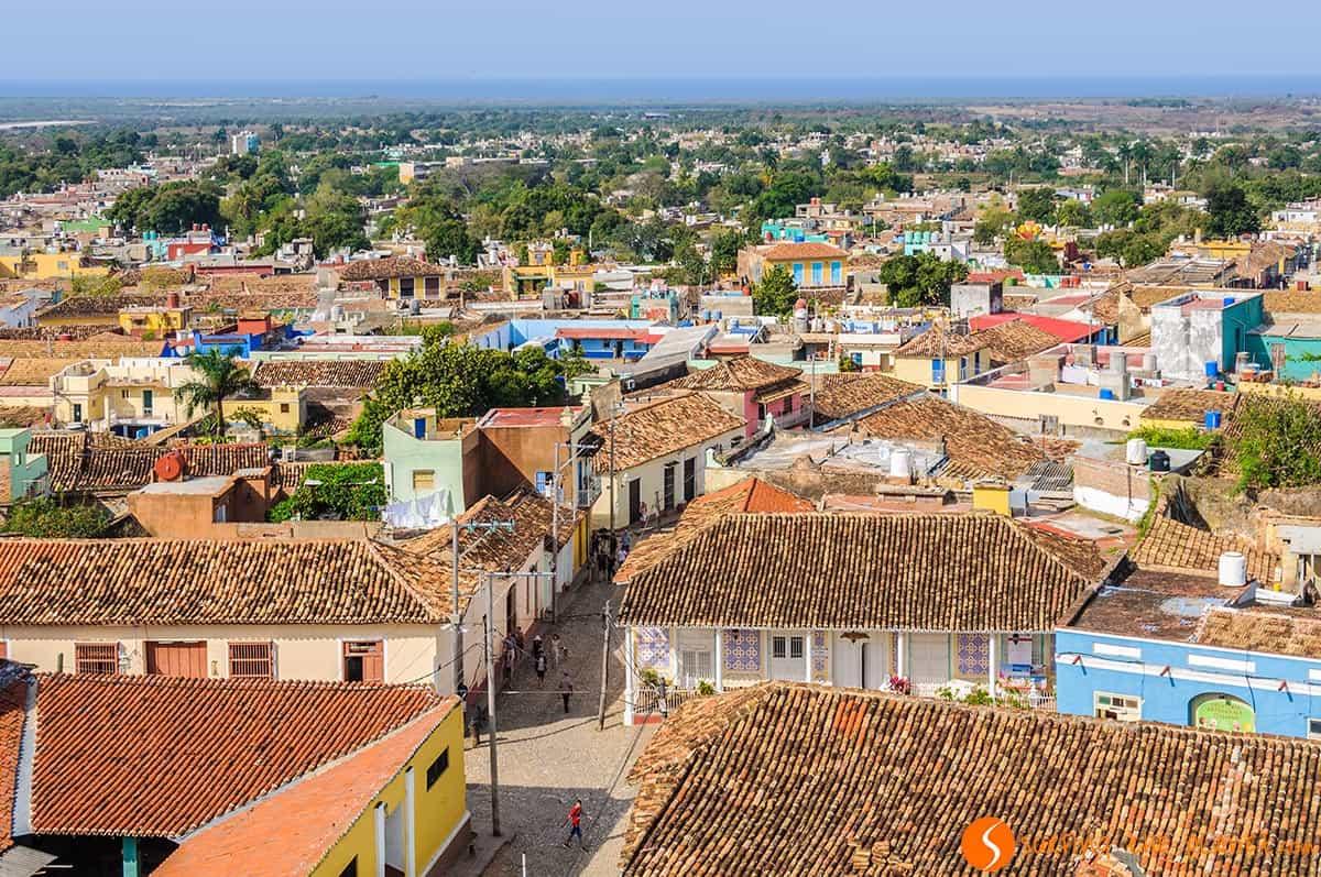 Vista de la torre del Convento San Francisco, Trinidad, Cuba | Qué hacer en Cuba