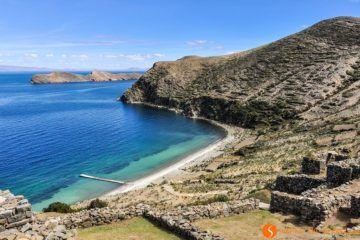 Ruinas antiguas, Isla del Sol, Bolivia