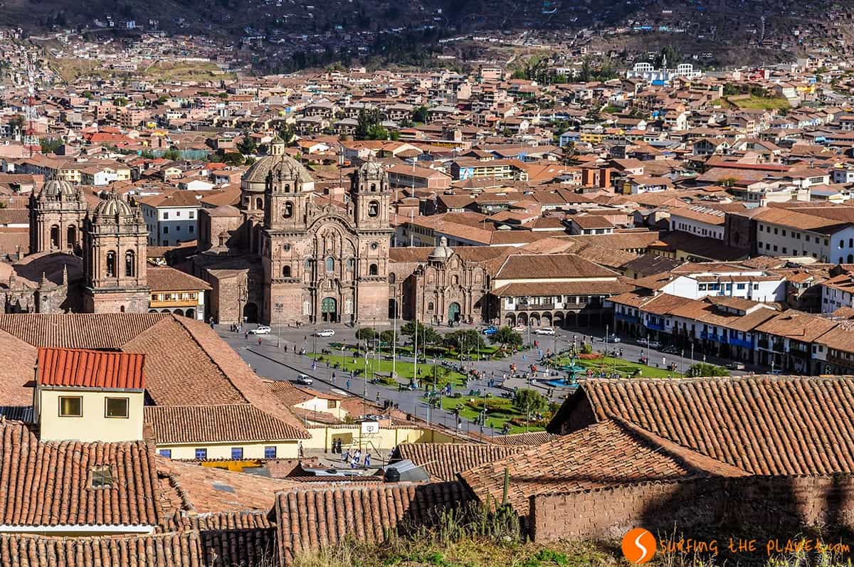 View of the Historical Neighborhood, Cusco, Peru