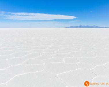 Mirando el infinito, Salar de Uyuni, Bolivia