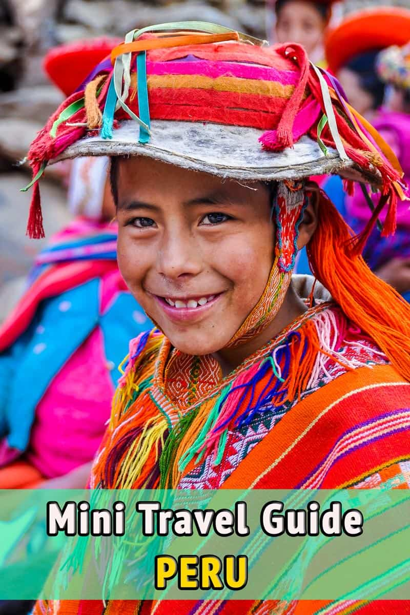 Mini Travel Guide, Peru