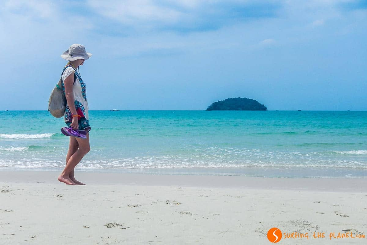 Playa Otres, Sihanoukville, Camboya