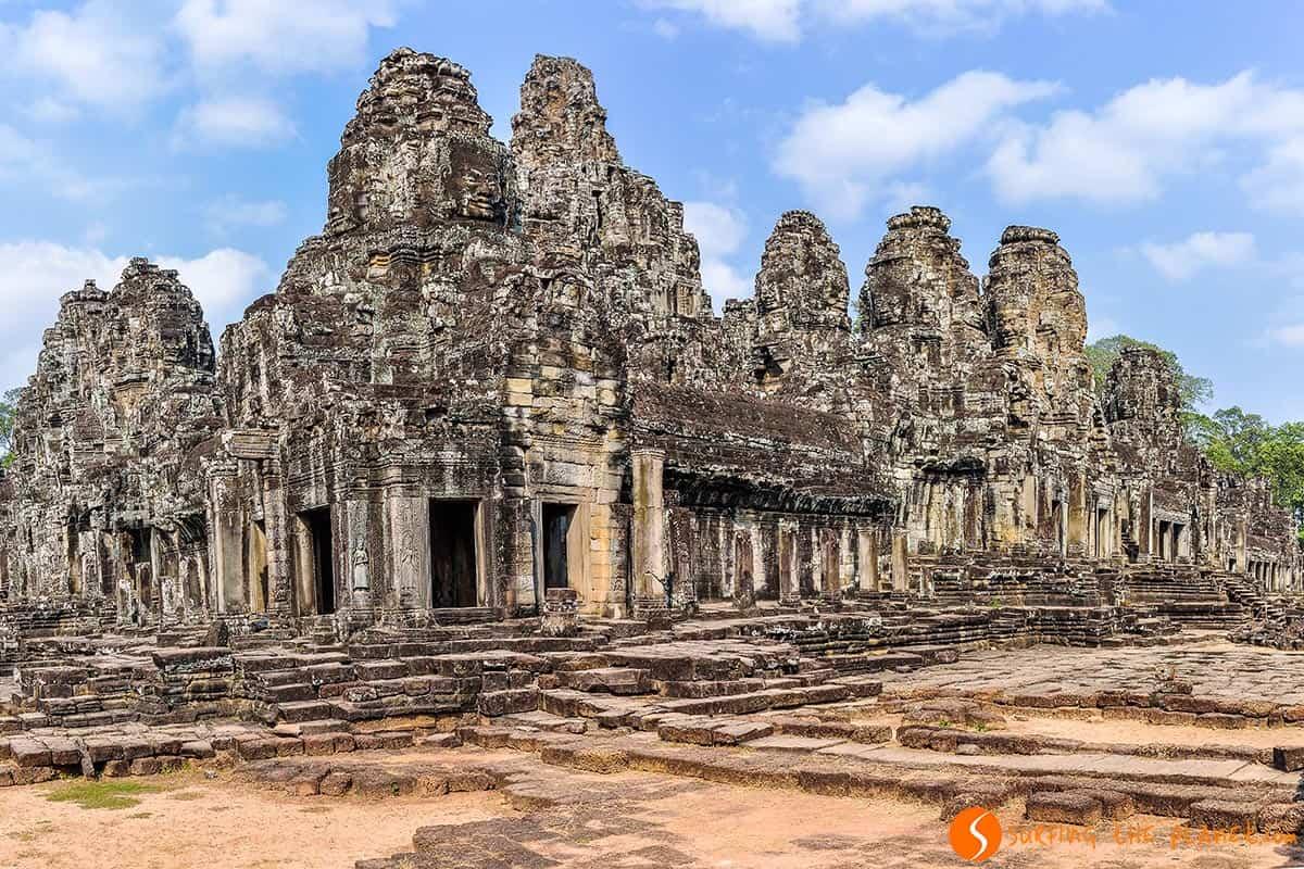 Templo Bayon, Angkor Wat, Camboya