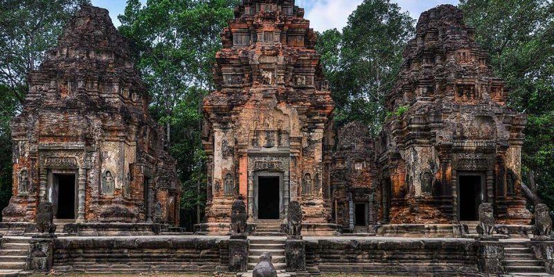 Templo Roluos, Siem Reap, Camboya