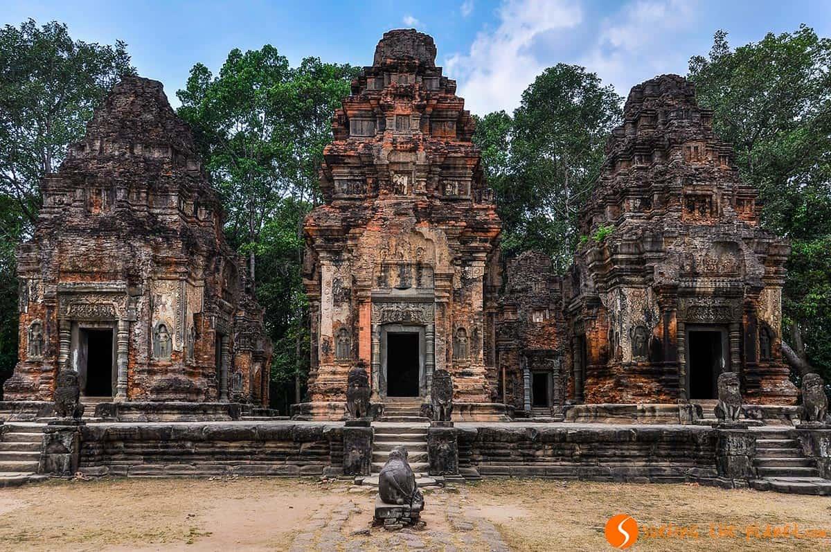 Roluos Temple, Siem Reap, Cambodia