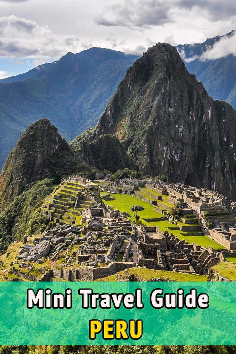Travel Guide, Peru