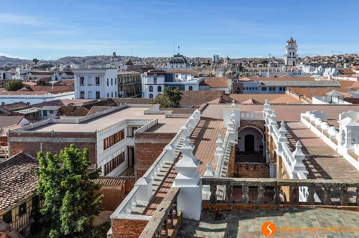 Vista aerea, Sucre, Bolivia