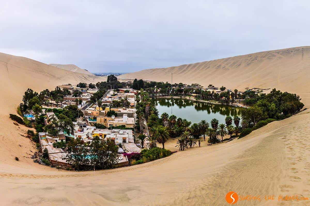 Oasis, Desierto de Huacachina