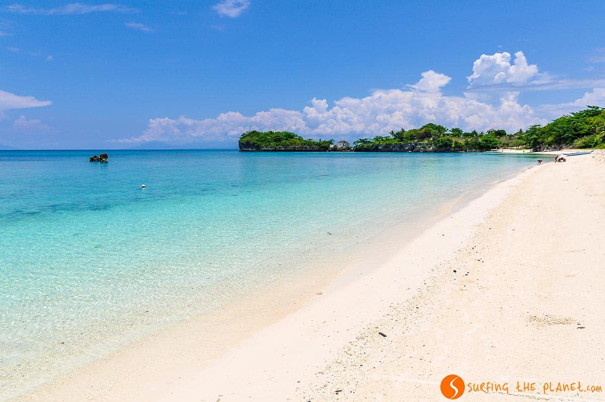 Playa desierta, Malapascua, Filipinas