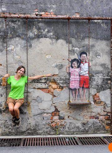 Arte callejero, George Town, Malasia
