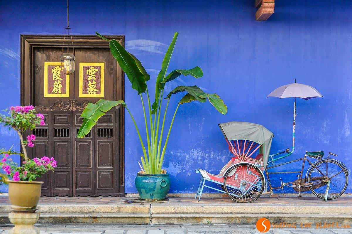 What to see in Malaysia, Casa Colonial, George Town, Malasia
