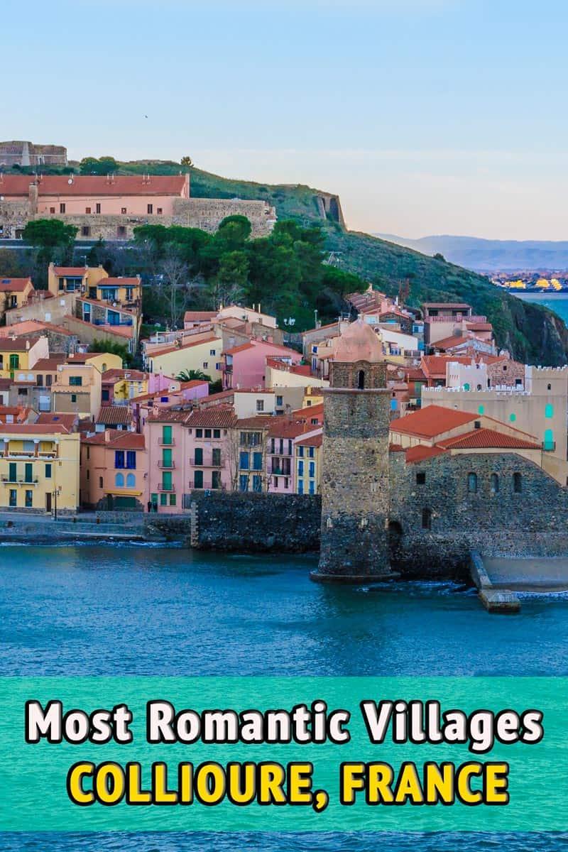 French romantic villages, Collioure, France