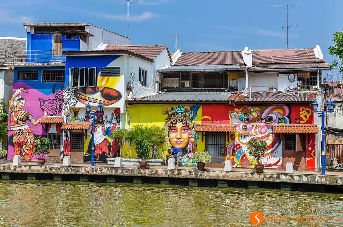 Graffiti, Melaka, Malasia
