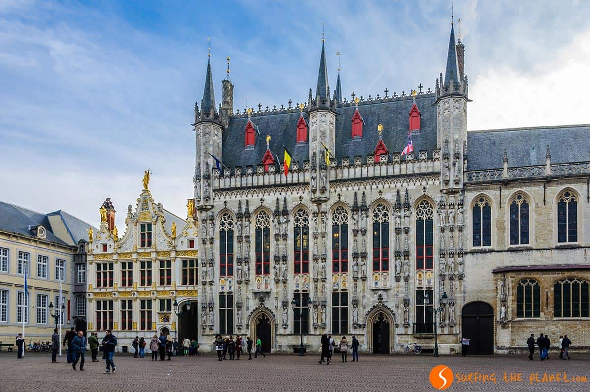 Piazza Burg, Bruges, Belgio | Cosa vedere a Bruges